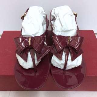 Salvatore Ferragamo Sling-back Jelly Heels