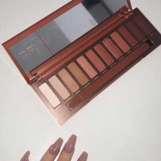 Urban decay naked heat makeup palette
