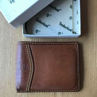 Vintage 90's Timberland Leather Wallet (順豐到付減 $40, no bargain, 不議)