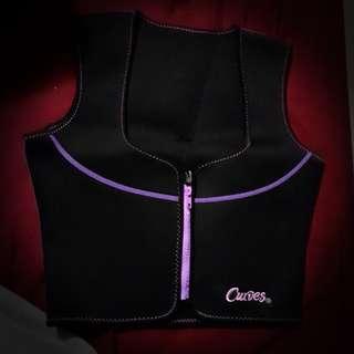 Curves - neoprene vest - small