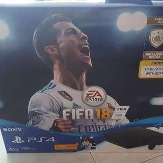 PlayStation 4 Slim Fifa18 bundle. Warranty till March 2019.