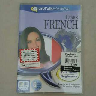 FIXED PRICE📬Brand New EuroTalk Interactive Learn French CD-Rom