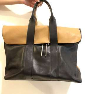 3.1 Phillip Lim 手袋 31 hours bag nude black tote