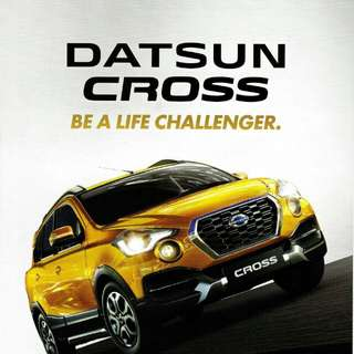 DATSUN CROSS OPEN INDENT