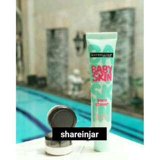 Sharenin jar maybelline baby skin pore eraser primer