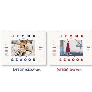 [PREORDER] JEONG SEWOON Pre-Order AFTER 1ST MINI ALBUM PART 2 정세운
