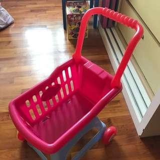 Preloved supermarket trolley