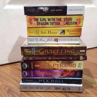 Brand New and Preloved Books
