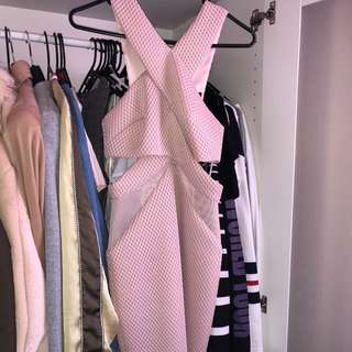 kendall and kylie forever new pink dress