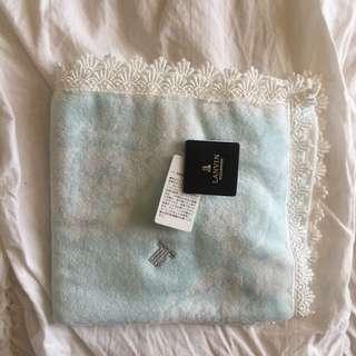 Lanvin washcloth