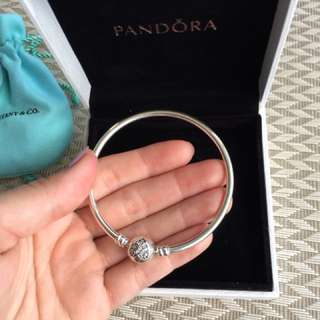 Original Sterling Silver Pandora Bracelet in small