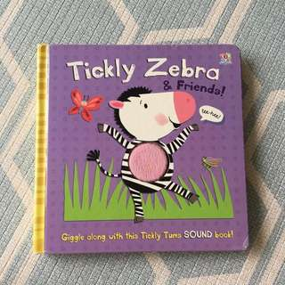 Tickle Zebra & Friends