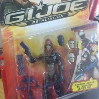 G.I. Joe Retaliation Zartan 3'75吋公仔