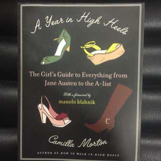 A Year in High Heels by Camilla Morton with Foreword by Manolo Blahnik