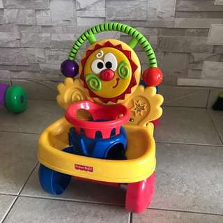 Fisher Price stride and ride walker