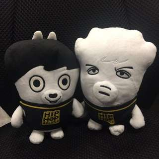 BTS HIPHOP MONSTER DOLL Replica