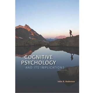 Cognitive Psychology and Its Implications 8th Ed