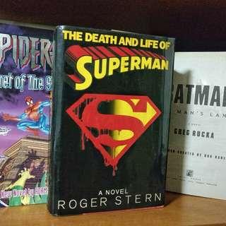 Superman, Batman & Spiderman Hardcover Books