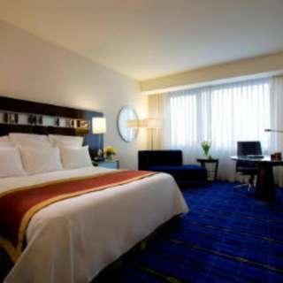 Marriott Hotel Stay In Hong Kong