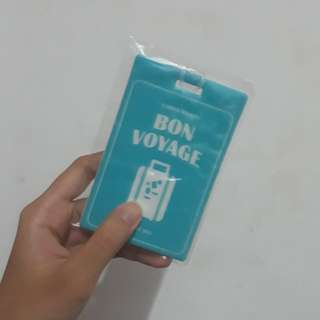 [LOOSE] BTS SUMMER PACKAGE LUGGAGE TAG