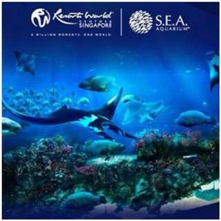 SEA AQUARIUM SINGAPORE OPEN DATE ETICKETS