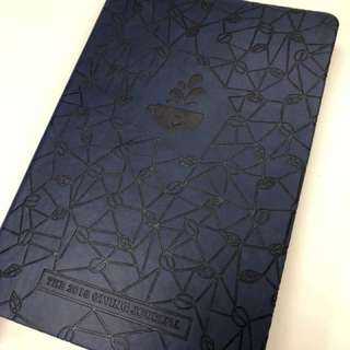 Coffee Bean and Tea Leaf Planner (Giving Journal 2018) - Blue