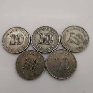 1976 Old Coins