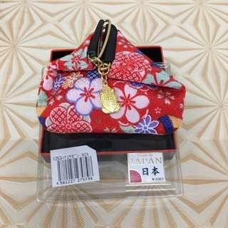 金蟾蜍日本製零錢包