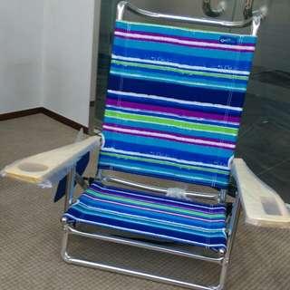 高質 全新 彩色 沙灘戶外椅 $150