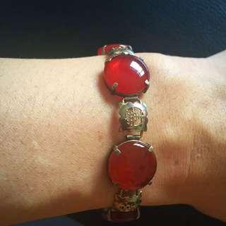 Vintage Bracelet-argate and silver