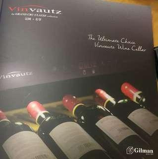Gilman- Vinvautz- wine cabinet(personal cellar)