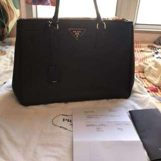 prada galleria leather bag