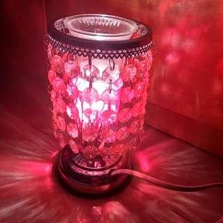 輕觸式粉紅夜燈