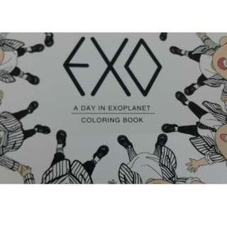 EXO colouring book