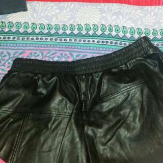 Minkpink leather short