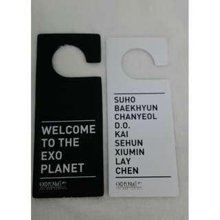 EXO EXOplanet door sign 2version (no photocard)