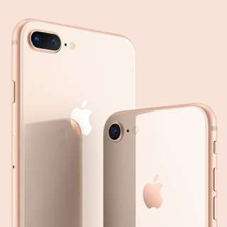 Iphone 8+ Gold 64gb (Brand New, Unbox)