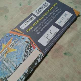 Star City Ride All You Can Ticket