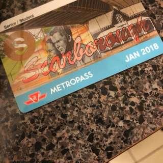 Metropass student/senior