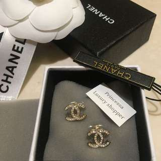 Chanel Earring Rose gold