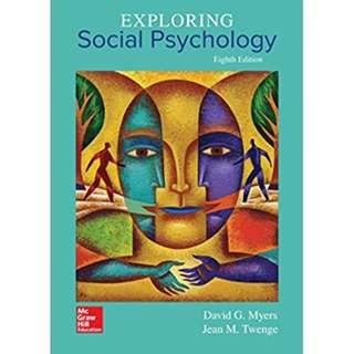 Exploring Social Psychology 8th Edition