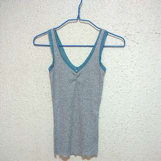 Abercrombie&Fitch Ribbed lace cami tank top