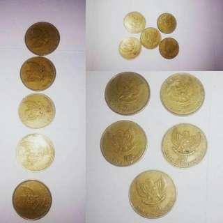 Paket Koin 500 Kuno Hanya 25000