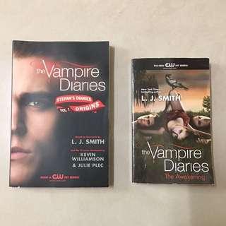 🚚 二手原版「吸血鬼日記」「The Vampire Diaries」