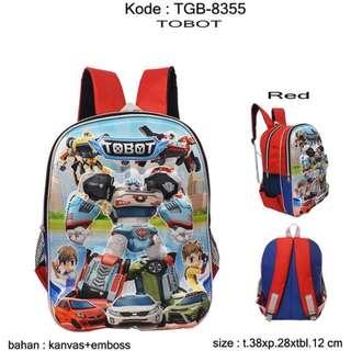 Tas baru Anak Sekolah TGB-8355 Tobot