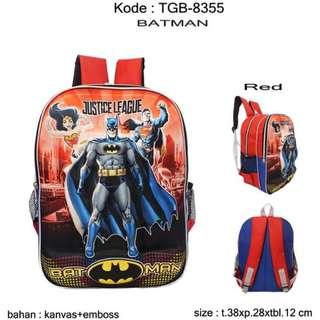 Tas Anak Sekolah TGB-8355 Batman