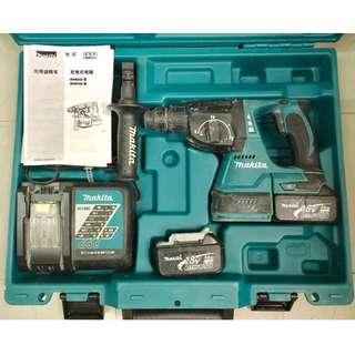 Makita 18V DHR242 鋰電電錘 (油壓鑽)