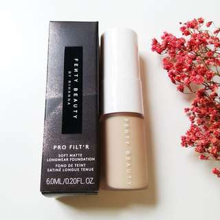 Brand New Authentic Fenty Beauty Pro Filter Soft Matte Long Wear Foundation Deluxe Size