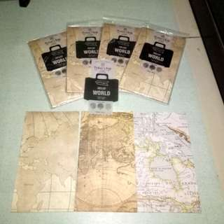 ONHAND: VINTAGE MAP GIFT BAGS