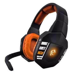 Dragon War - PS4 PS3 PC 光纖無線頭戴式無線電競耳機